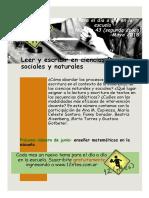 12ntes Leer y Escribir en Ciencias Naturales