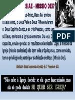 Missio Ecclesiae - Missio Dei