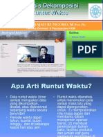 Analisis Dekomposisi dan Model runtut waktu-Bank.ppt