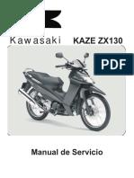 Manual de Servicio Kawasaki Magic II 130