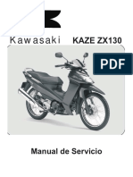 Manual de Servicio Kawasaki Magic II 130