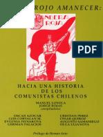 Bandera Roja Por Un Rojo Amanecer Hacia Una Historia de Los Comunistas Chilenos