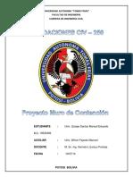 FundacionesProyecto MuroDe contención
