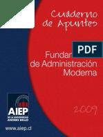100703507 Cuaderno de Apuntes Fundamentos de Adm Moderna