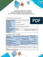 Guía de Actividades y Rubrica Evaluación - Paso 3 - Modelo Sistema Integrado de Gestión