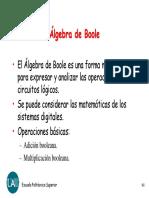 Algebra de Boole1