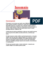 Insomnio Descripcion General PDF GRATIS.