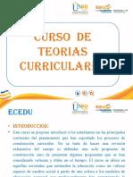 Presentacion Del Curso Teorias Curriculares