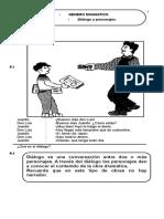 Género Dramático Diálogo y Personajes 4-38