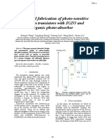 Design and fabrication of photo-sensitive