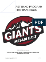 handbook  mesabi east band