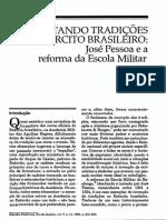 Inventando Tradições No Exército Brasileiro -Celso Castro