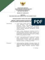 PERMENPAN RB 38 2012 Ttg Pedoman Penilaian Kinerja Unit Pelayanan Publik
