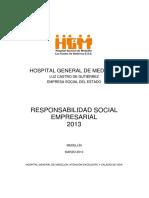 Hospital General de Medellín Responsabilidad Social Empresarial