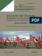 Nicolai, Helmut. - La Teoria Del Derecho Conforme a La Ley de Las Razas [2015]
