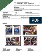 Narrative-report Outreach Prog
