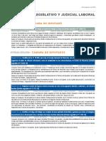 Informe Legislativo Laboral