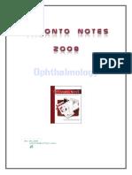 Ophthalmology - Toronto notes.pdf
