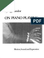 Gyorgy Sandor en el Piano
