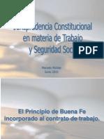 jurisprudencia constitucional en materia laboral guatemala