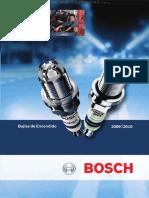 Manual Bujias Encendido Bosch Tecnologia Pictogramas Construccion Componentes Funciones Aplicaciones Marcas Modelos