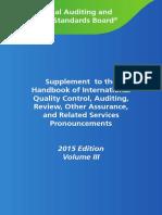 IAASB 2015 Handbook Volume 3