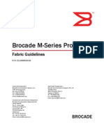 Brocade M-Series Fabric Guidelines