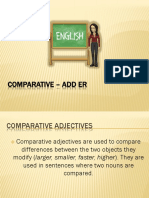 Comparative – Add Er