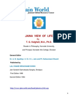 Jain View of Life - T. G. Kalghati