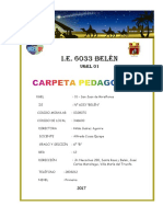 CARPETA PEDAGOGICA 2018