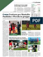 La Provincia Di Cremona 28-08-2018 - Cremo