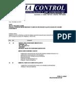 Cotizacion de Reparacion de Equipo de Precision UEP-01 y UEP-02 Sala de UPS CHLORIDE Plataforma 10