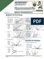 Trigonometria - 1er Año - I Bimestre - 2014