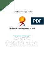 Module 4 Fundamentals of RBI