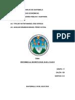 Finanzas III - Investigacion