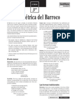 barroco - métrica