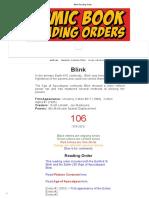 Blink Reading Order