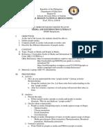 PDEP Integration Lesson Plan MIL