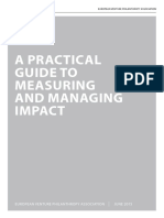 EVPA Measuring and Managing Impact