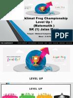 Taklimat Frog Championship