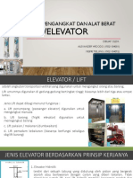 LIFT (Tugas MK Mesin Pengangkat dan Alat Berat - Presentasi)