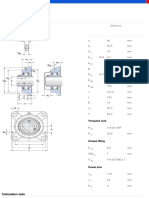 Y-bearing Square Flanged Units-FY 40 TF