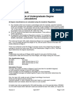 Worked Examples of Undergraduate Classification Calculations v2