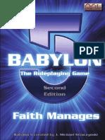 Babylon 5 RPG Core Rulebook, 2nd Ed