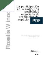 Winocur_Rosalia_Participación_Radio