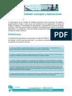 Círculos Calidad Concepto Aplicaciones