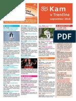 KAM v Trenčíne - september 2018