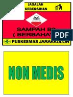 Sampah Medis Non Medis New