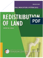 Ais Redistribution of Land2016F