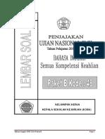 Soal Paket b